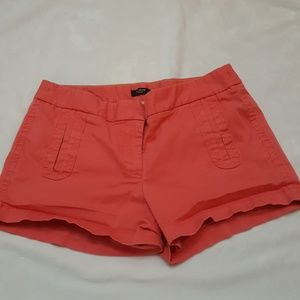 J. Crew Stretch Khaki Shorts